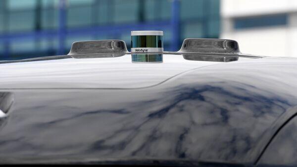 Крыша прототипа беспилотного автомобиля
