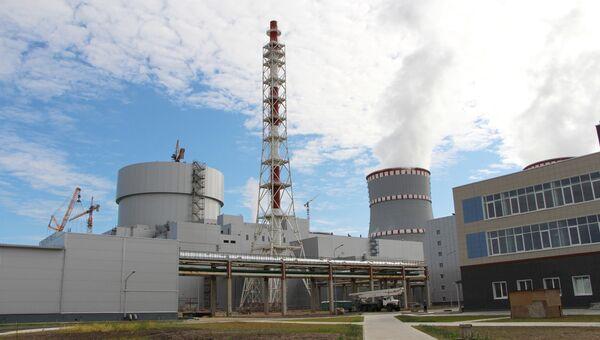 Ленинградская АЭС-2. Архивное фото