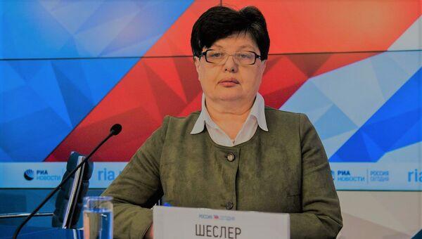 Глава Союза политэмигрантов и политзаключенных Украины Лариса Шеслер