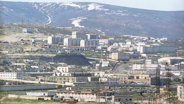 Магадан. Архивное фото