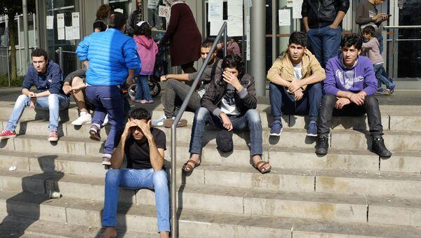 Мигранты в Европе. Архивное фото