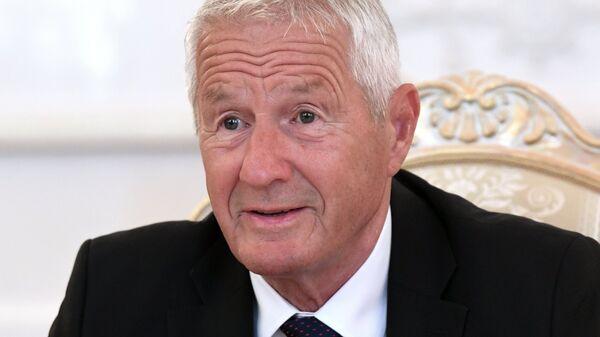 Генеральный секретарь Совета Европы Турбьерн Ягланд. Архивное фото