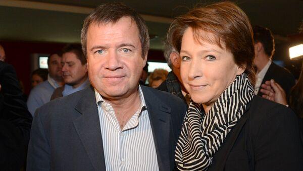 Татьяна и Валентин Юмашевы. Архивное фото