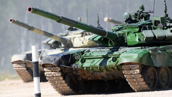 Танки Т-72. Архивное фото
