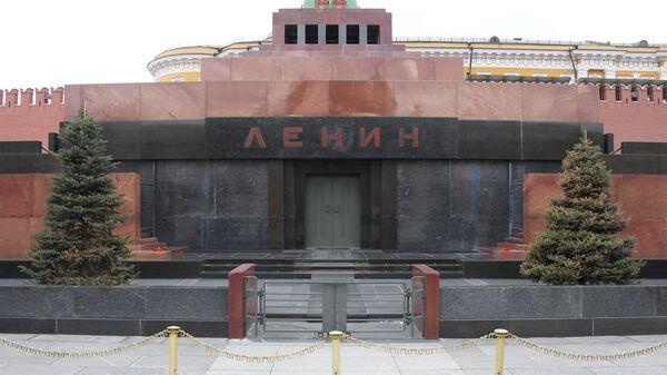 Мавзолей В.И. Ленина на Красной площади после ремонта.