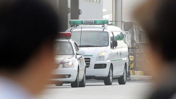 Полиция и скорая помощь в Южной Корее