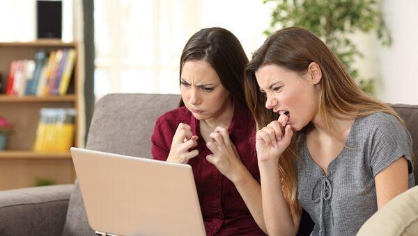 Пользователи за компьютером