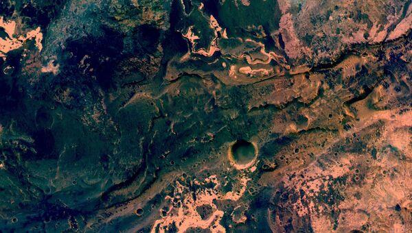 Долина Узбой, русло длиннейшей реки Марса, высохшей в далеком прошлом