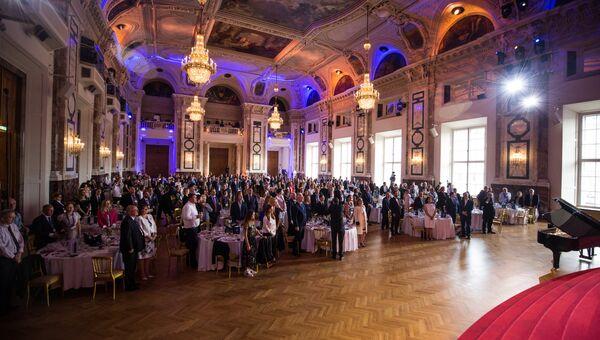 Церемония  инаугурация главы Асгардии в Вене во дворце Хофбург. 25 июня 2018