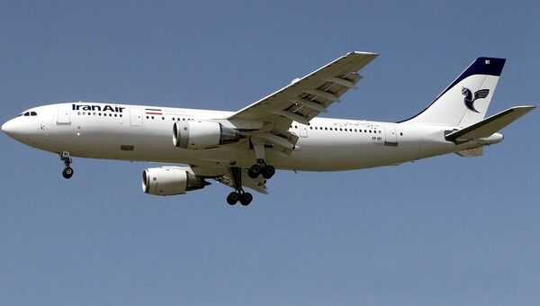Самолет Airbus A300B2 авиакомпании Iran Air