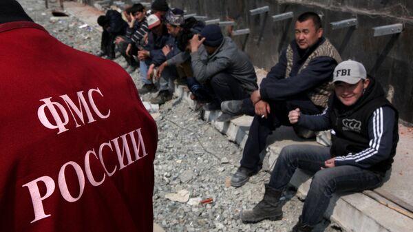 Рейд по выявлению нелегальных мигрантов во Владивостоке