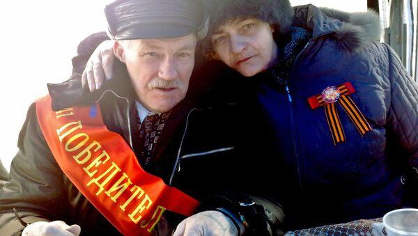 Владимир Николенко с дочерью Людмилой