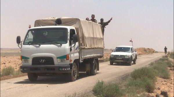 Сирийские войска вышли к границе с Иорданией. Архивное фото