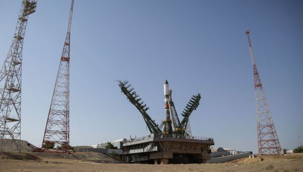 Ракета Союз-2.1а с космическим грузовиком Прогресс МС. Архивное фото