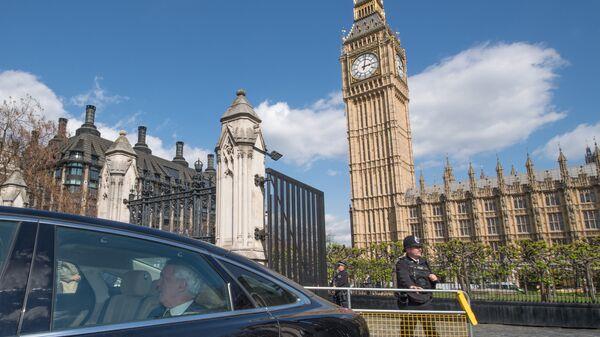 Здание парламента в Лондоне