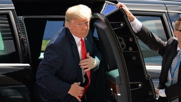 Президент США Дональд Трамп на саммите НАТО в Брюсселе. 11 июля 2018