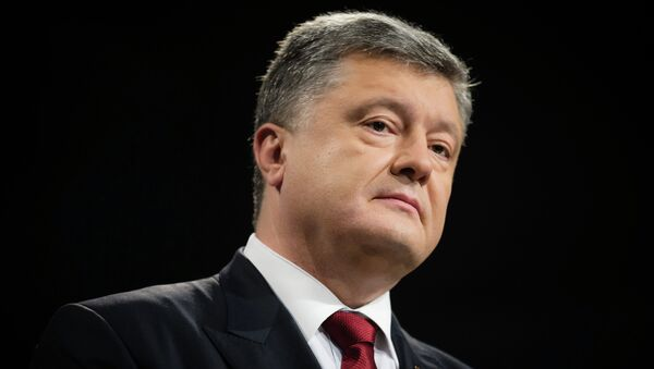 Президент Украины П. Порошенко. Архивное фото