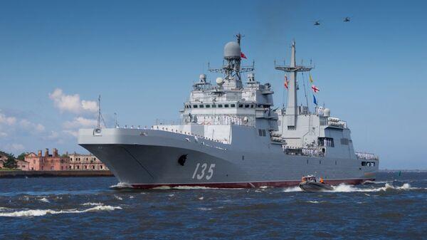 Десантный корабль Иван Грен. Архивное фото