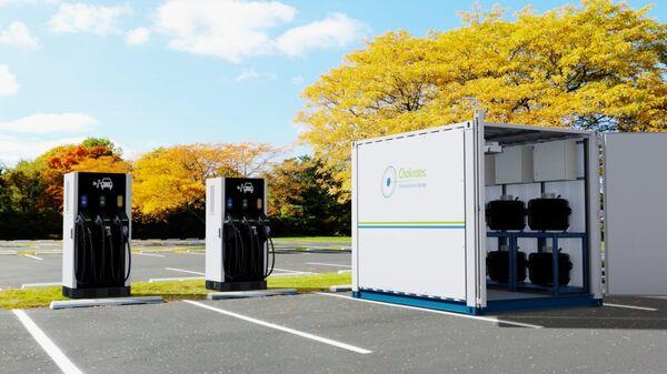 Проект станции зарядки электромобиля израильской стартап-компании Chakratec