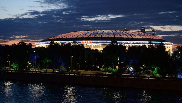 Большая спортивная арена Лужники. Архивное фото