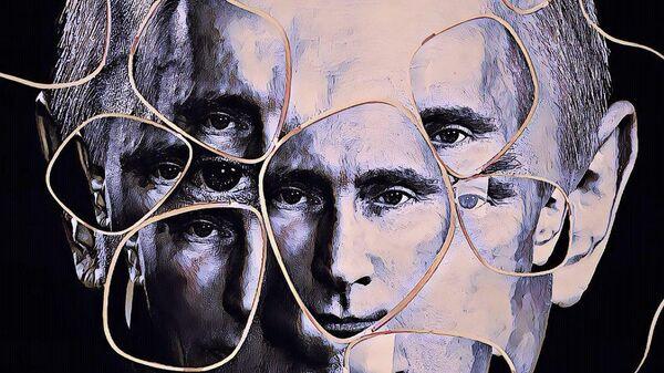 Картина американского художника Дэвида Датуна Всевидящий В.