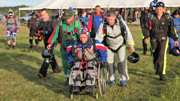 III Международный спортивный фестиваль по парашютному спорту среди инвалидов  «HANDI FLY International Challenge  2018»