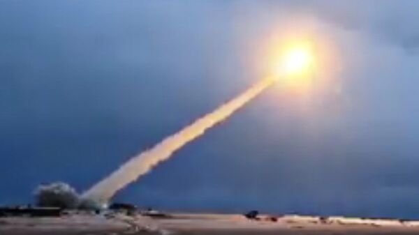 Пуск крылатой ракеты с ядерной силовой установкой Буревестник