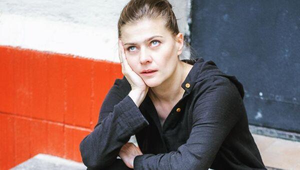 Актриса и телеведущая Мария Голубкина