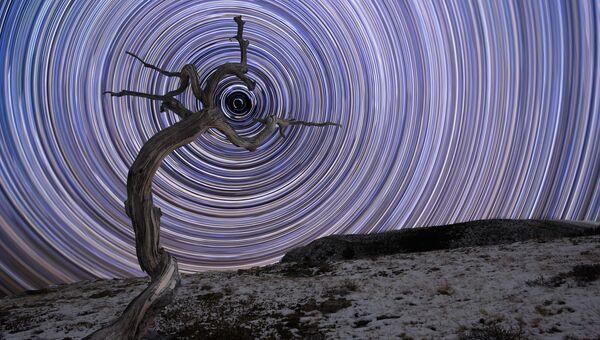Работа фотографа Jake Mosher Holding Due North, вошедшая в шорт-лист Insight Astronomy Photographer of the Year 2018