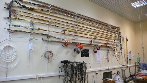 Испытательный стенд для сверхпроводящих кабелей