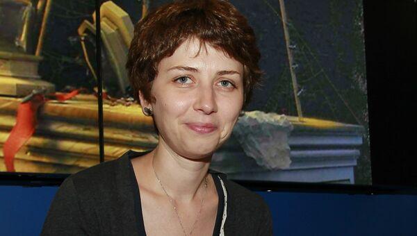 Писательница Анна Старобинец. Архивное фото
