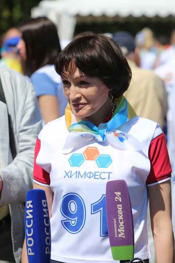 Двукратная олимпийская чемпионка России Светлана Ишмуратова