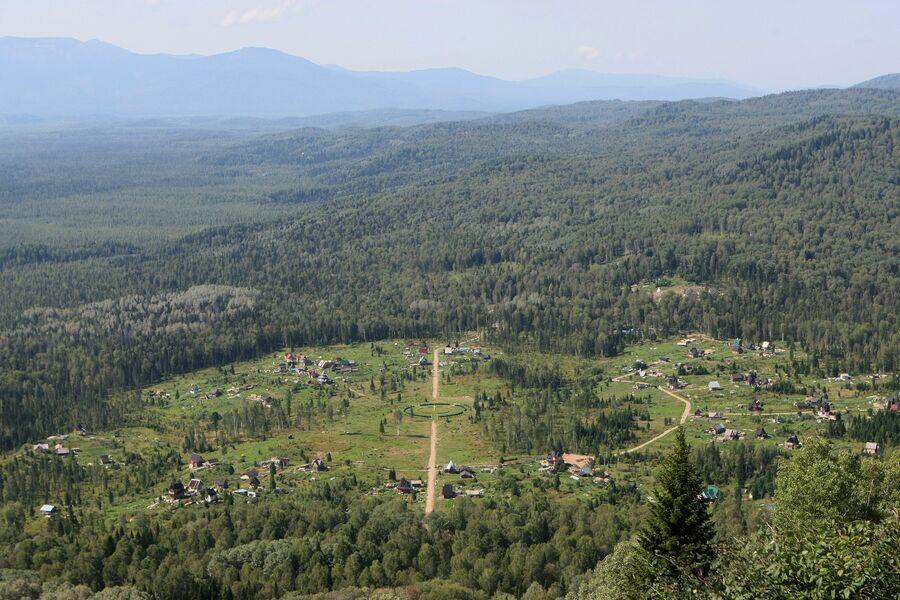 Одна из общин в Красноярском крае. Архивное фото
