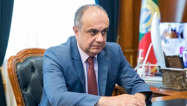 Мурат Суюнчев на встрече с главой Карачаево-Черкесии Рашидом Темрезовым