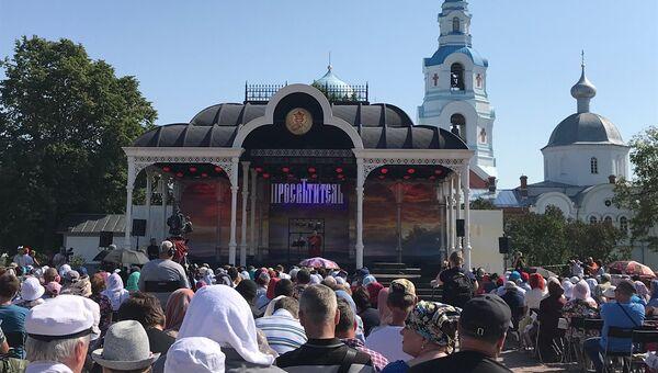 Открытие фестиваля Просветитель на Валааме. 28 июля 2018