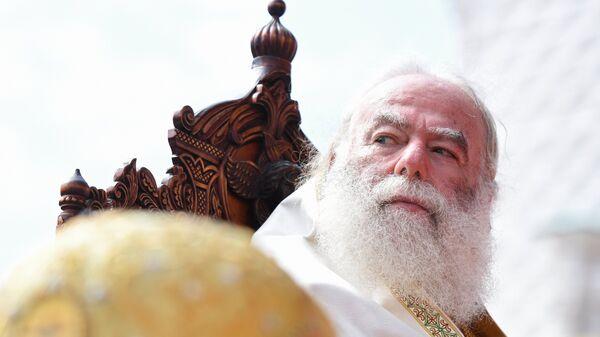 Патриарх Александрийский и всея Африки Феодор II на праздновании 1030-летия Крещения Руси