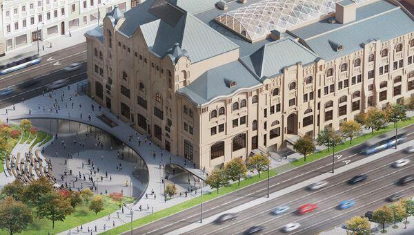 Проект реконструкции московского Политехнического музея