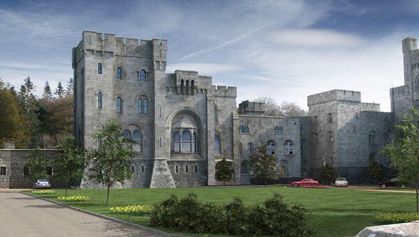 Замок Госфорд в Ирландии