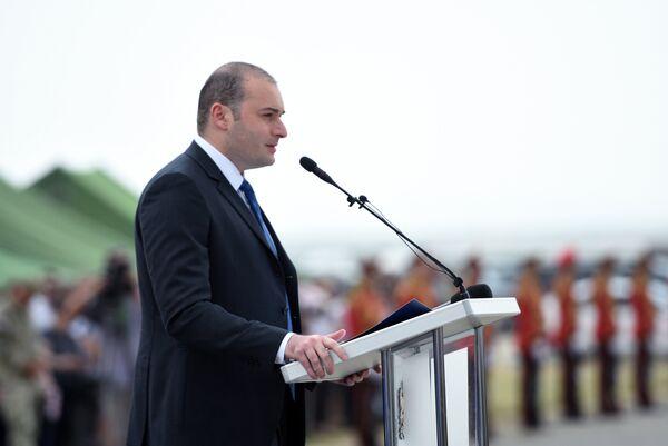 Премьер-министр Грузии Мамука Бахтадзе. Август 2018 года