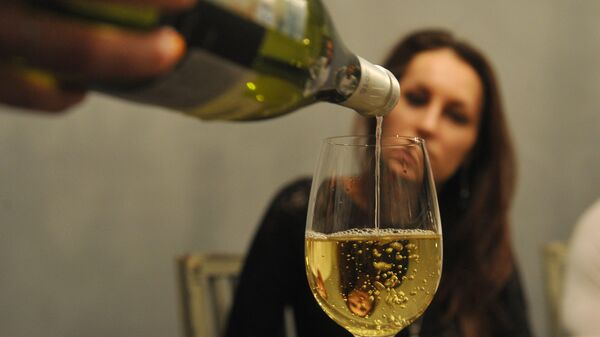 Бокал вина. Архивное фото