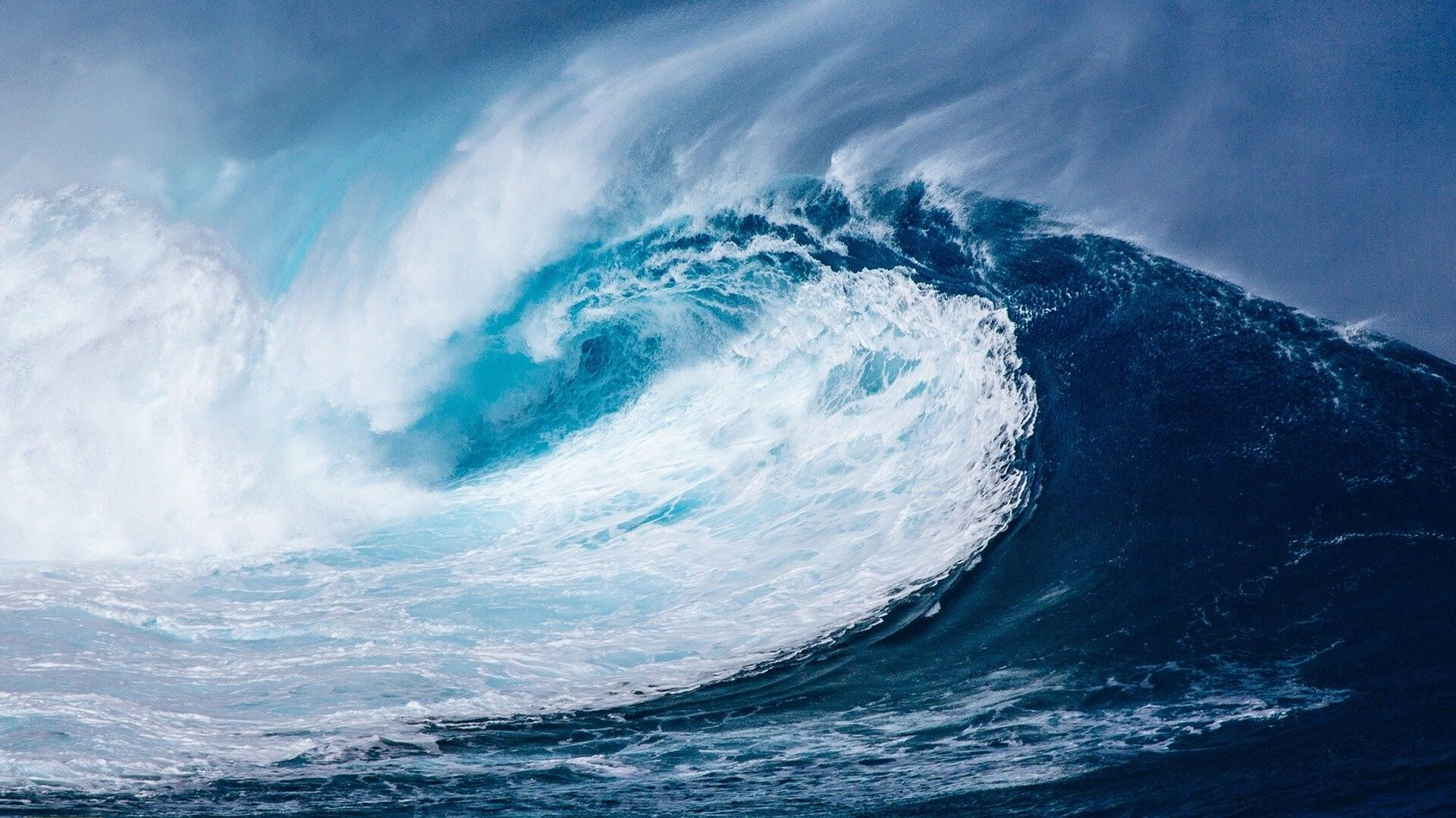 Волна в Атлантическом океане - РИА Новости, 1920, 01.11.2020