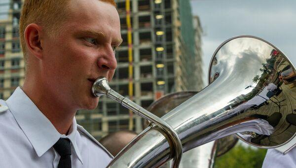 В последнюю субботу июля музыкальный марафон Программы Военные оркестры в парках принимал парк Красная Пресня