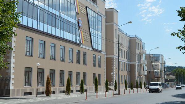 Столица Южной Осетии город Цхинвал