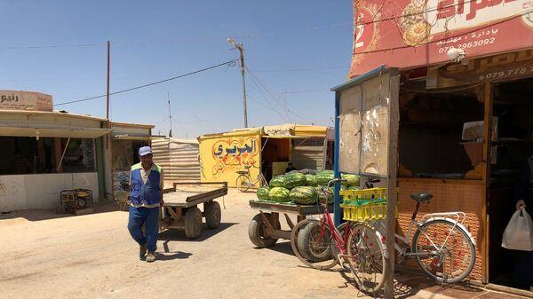 В лагере Сирийских Беженцев