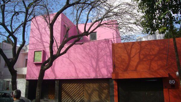 Розовый дом Луиса Баррагана