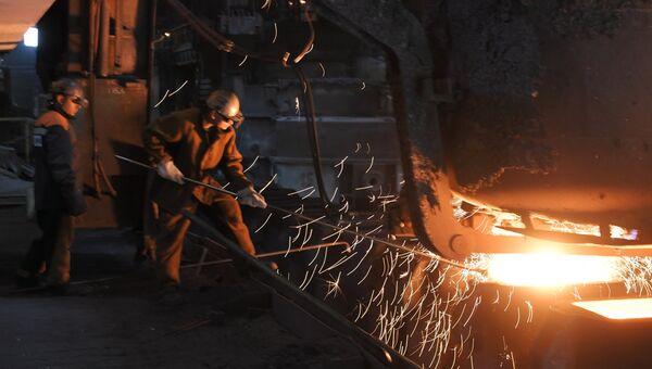 Западно-Сибирский металлургический комбинат. Архивное фото