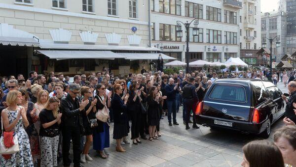 Прощание с режиссером Дмитрием Брусникиным
