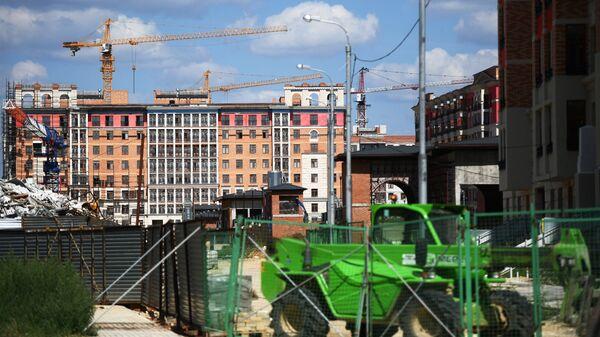 Строительство жилого комплекса Опалиха ОЗ