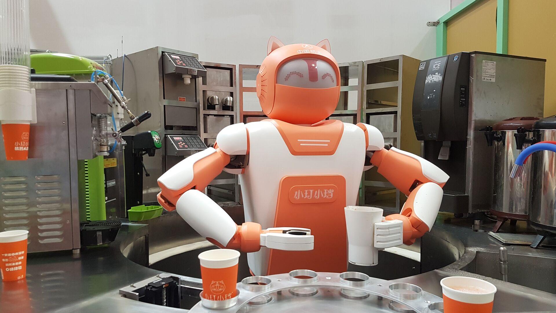 Производство промышленных роботов в Китае в 2020 году выросло на 19,1%