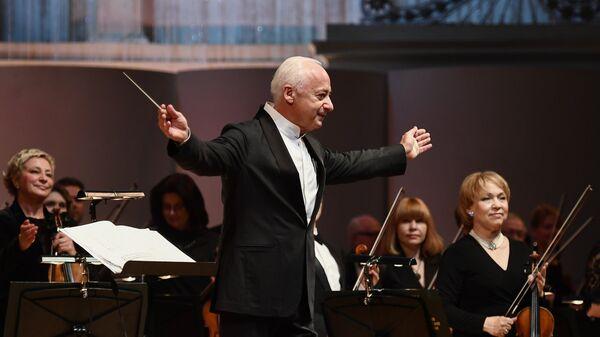 Художественный руководитель, главный дирижер Национального филармонического оркестра России и Государственного камерного оркестра Виртуозы Москвы Владимир Спиваков